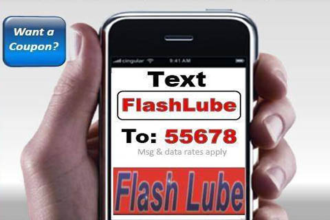 Text Flash Lube